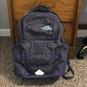 Purple Northface Recon Backpack